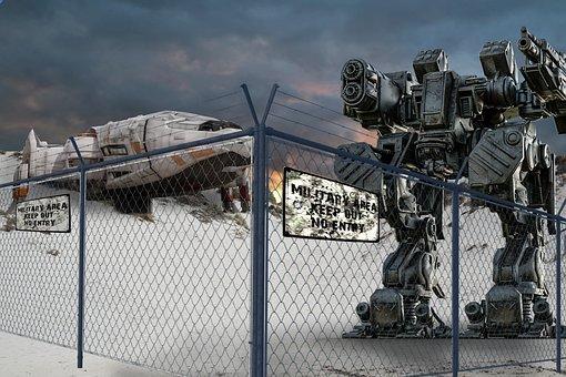 Fantasy, Alien, Robot, Futuristic, Surreal, Spaceship