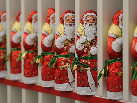 Christmas, Santa, Chocolate, Gifts, Nicholas