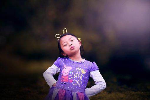 Girl, Kid, Portrait, Pose, Model, Cute, Adorable, Child