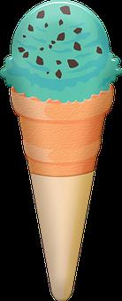 Ice Cream, Cold, Sweet, Dessert, Cold Dessert, Cone