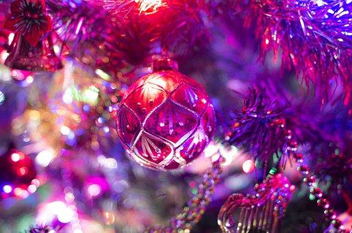 Christmas, Decoration, Bauble, Christmas Tree, Fir