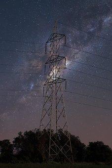 Astro, Tower, Sky, Stars, Farm, Skyview, Night, Galaxy