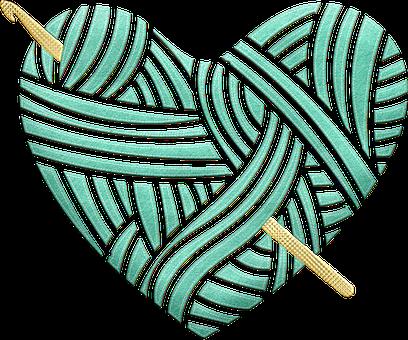 Crochet, Heart, Hygge, Hygge Crochet Heart