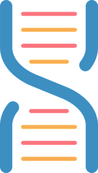 Dna, Helix, Icon, Scientific, Health, Chromosome