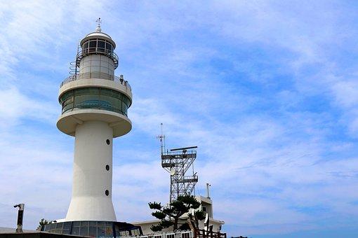 Mukho Lighthouse, Tower, Sky, Lighthouse, Landmark