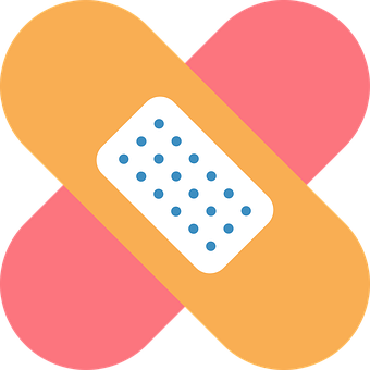 Bandage, Medical, Icon, Adhesive Bandage, Plaster