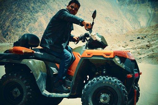Nubra Valley, All-terrain Vehicle, Atv Ride, Atv