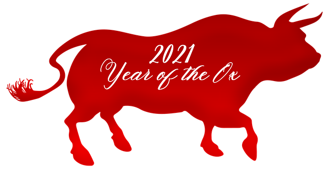 Chinese New Year, Year Of The Ox, 2021, Ox