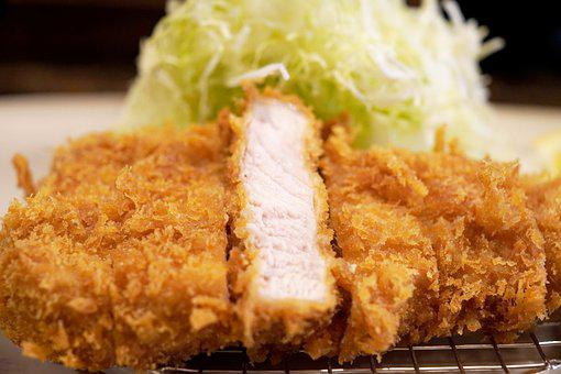 Tonkatsu, Pork, Japanese Food, Cuisine, Dish