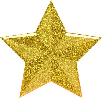 Star, Sparkle, Glitter, Cut Out, Isolated, Vintage