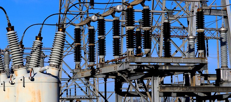 High Voltage, Electricity, Sub-station, Current