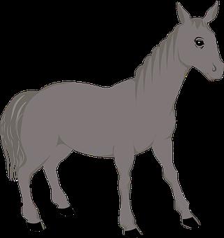 Animal, Horse, Icon, Equine, Mammal, Animal Drawing