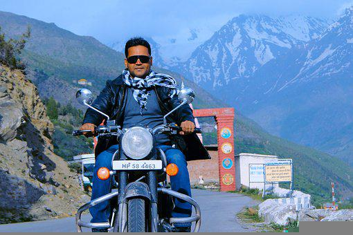 Mountain, Road, Motorcycle Ride, Motorcycle, Ride