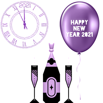 New Years Eve, 2021, Celebration, Year, Pandemic