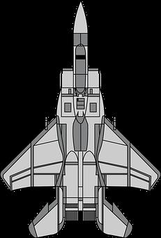 Fighter Plane, Military, Bomber, Plane, Jet, War