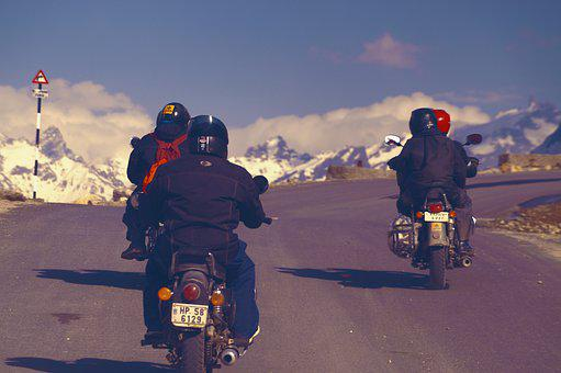Road Trip, Road, Motorcycle Ride, Motorcycle Riding