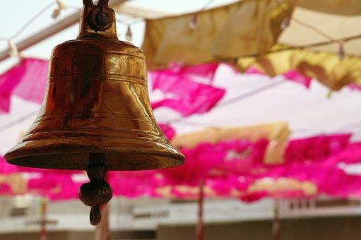 Temple, Bell, Hinduism, Hindu, Mandir Bell, Temple Bell