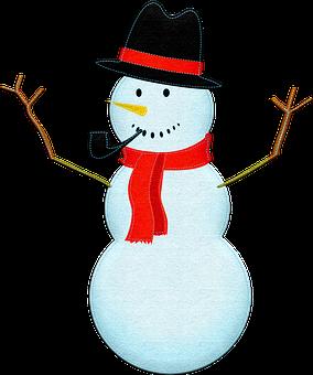 Felted Snowman, Snowman, Winter, Wintry, Snowman Nose