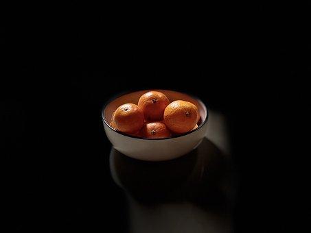 Oranges, Fruits, Bowl, Fruit Bowl, Citrus Fruits