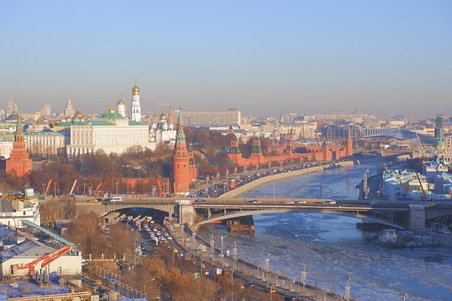 Church, Cathedral, Temple, Building, The Kremlin, Dome