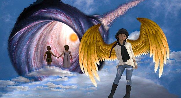 Guardian Angel, Teen Angel, Children, Protection
