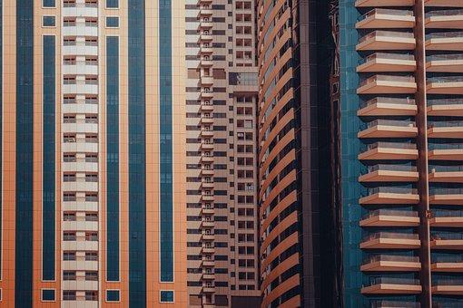 Buildings, Architecture, Facade, Skyscrapers, City