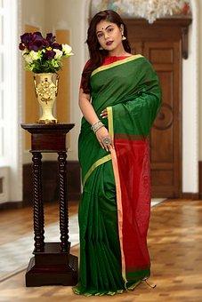Woman, Indian Saree, Model, Indian Model