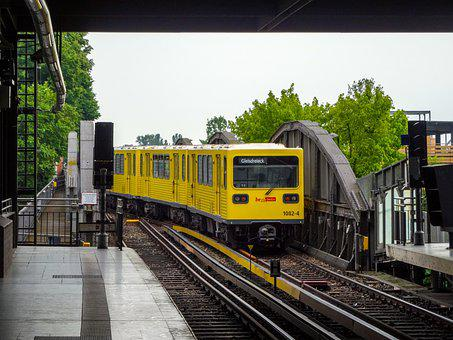 Metro, Train, U-bahn, Subway, Transport, City, Germany