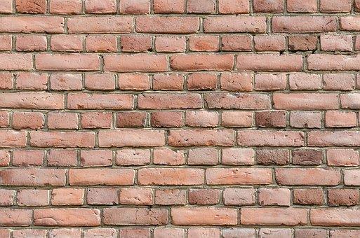 Bricks, Red, Walls, Red Brick Wall, Brick Wall