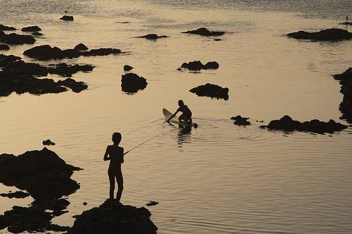 Cape Verde, Cabo Verde, Boa Vista, Island, Sun Set
