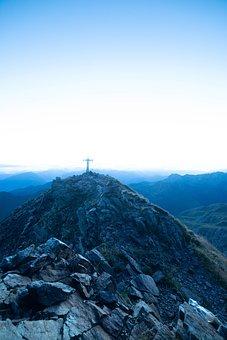 Cross, Peak, Mountain Range, Mountainous