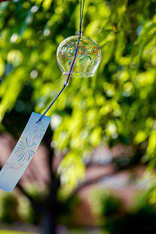 Furin, Wind Chime, Hanging, Furin Bell, Wind Bell