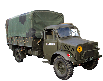 Truck, Military, Vehicle, Old, Military Truck, Army
