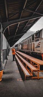Train, Train Station, Railway Station, Covid, Protocol