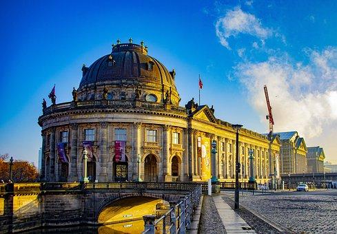Bode Museum, Berlin, Building, Architecture, Facade