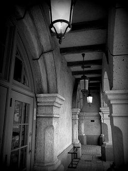Building, Alley, Hallway, Structure, Porto Europe