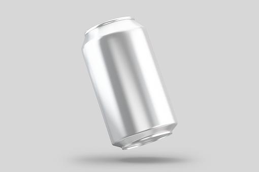 Beer Can, Mockup, Tin, Can, Aluminium, Soda Can