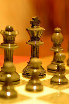 Chess, Chess Pieces, Chessboard, Black, King, Game