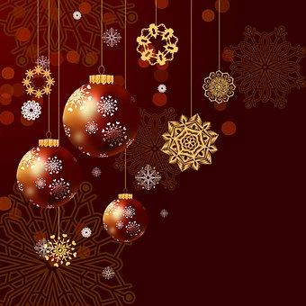 Christmas, Baubles, Balls, Ornaments, Decorations