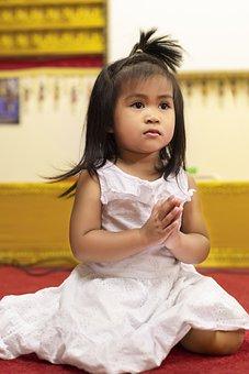 Girl, Kid, Child, Cute, Pray, Religion, Religious