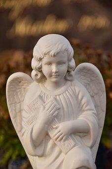 Angel, Angel Wings, Statue, Sculpture, Decorative