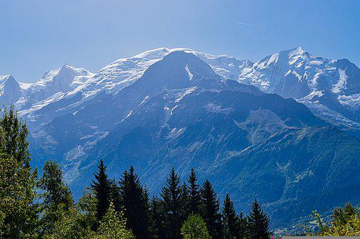 Arve Valley, Les Houches, Summit, Mountain, Clouds