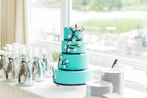 Cake, Dessert, Wedding, Birthday, Party, Sweet