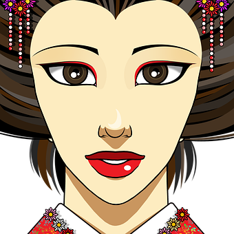 Woman, Bride, Face, Wedding, Japanese, Asian, Marriage