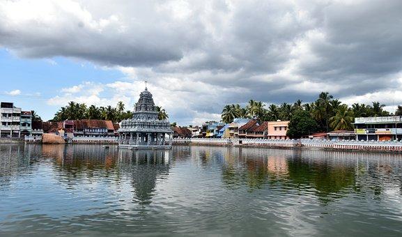 Shiva, Brahma, Vishnu, Temple, Hindu, Mythology