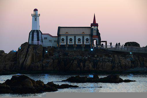 Jukseong Fortress, Lighthouse, Coast, Coastline