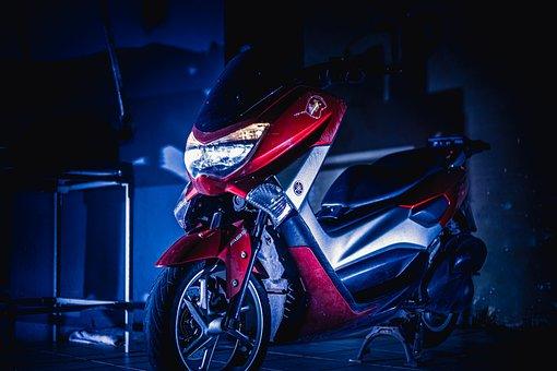 Scooter, Motorcycle, Nmax, Motorbike, Motor, Vehicle