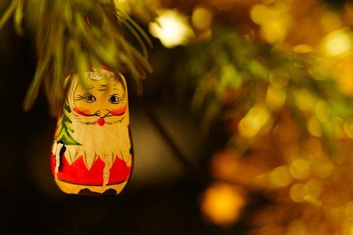 Santa Claus, Christmas Decoration, Ornament, Santa
