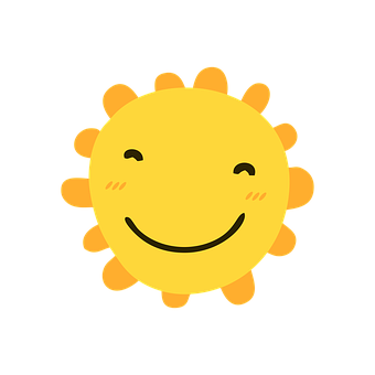 Sun, Smiley, Cartoon, Smile, Happy, Bright, Funny