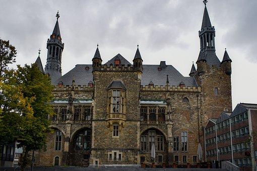 Achen Town Hall, Aachen, Architecture, Germany